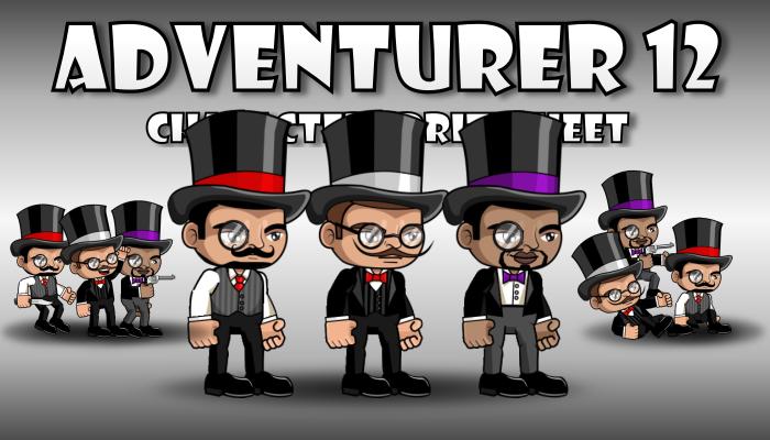 Adventurer Character 12