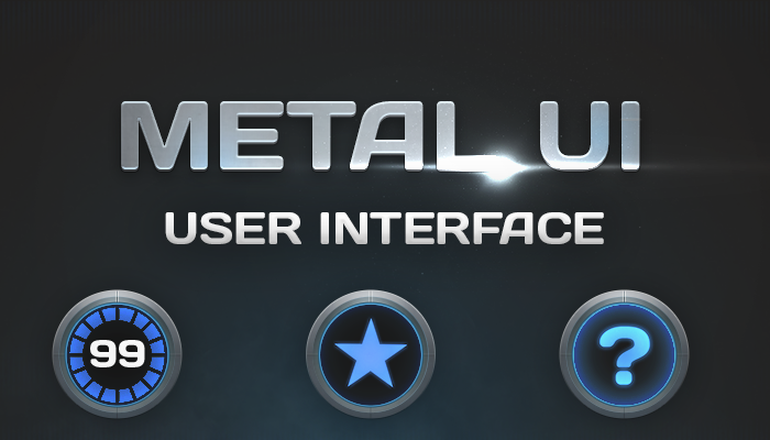 Metal Game GUI