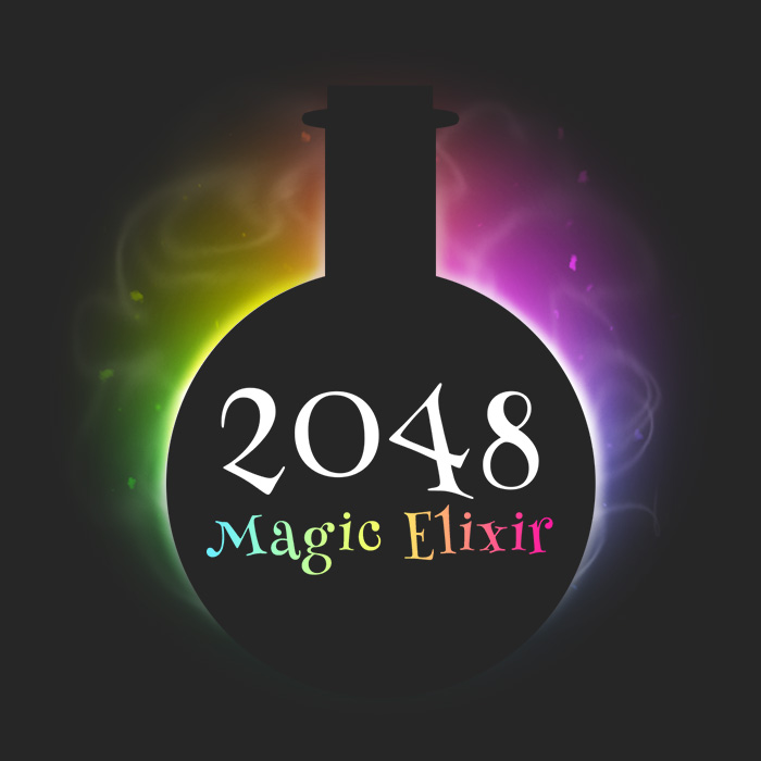 2048: Magic Elixir – Game Assets