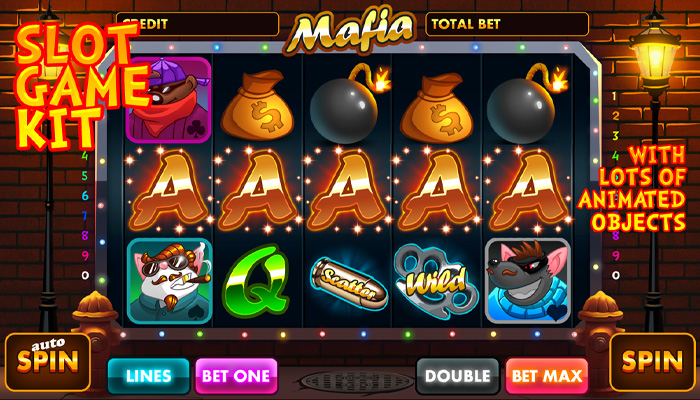 Mafia slot game kit