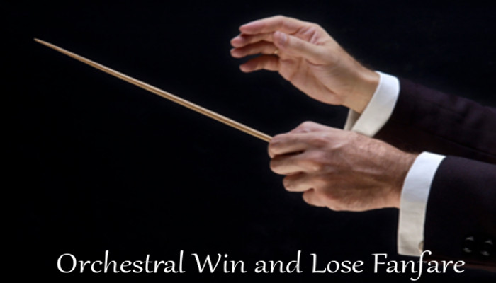 Orchestral Win and Lose Fanfare