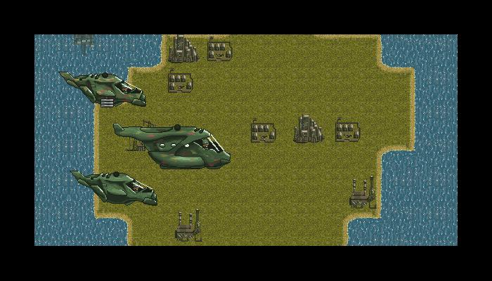 Pixel War Platform Sprites