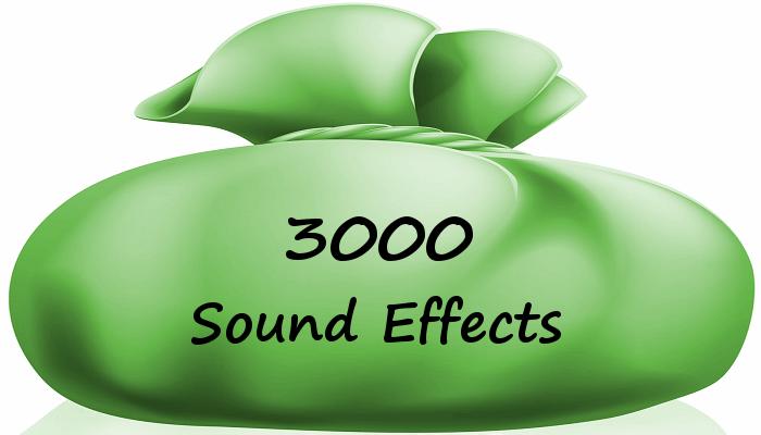 3,000 Sound Effects