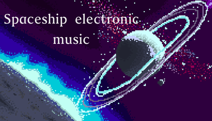 Spaceship electronic Music