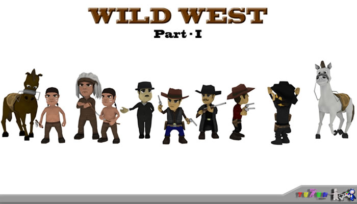 Wild West Character Pack – PART I