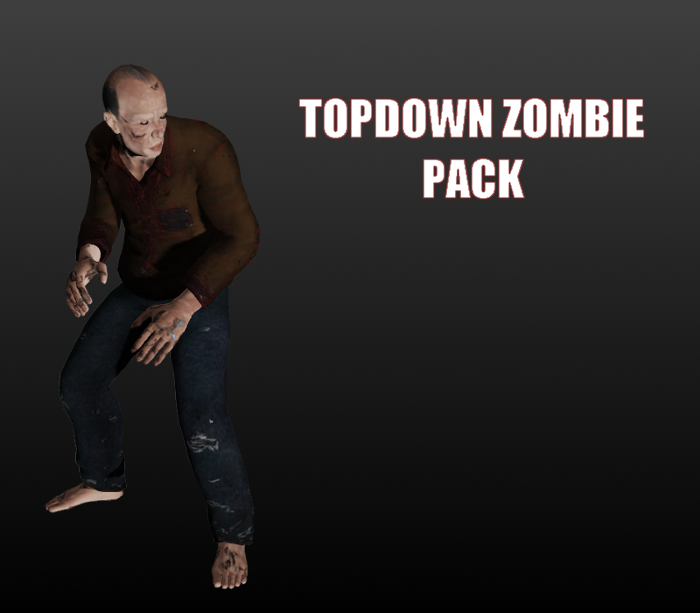 Topdown zombie pack