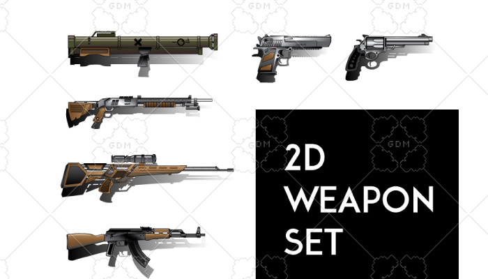 2d Weapon Set