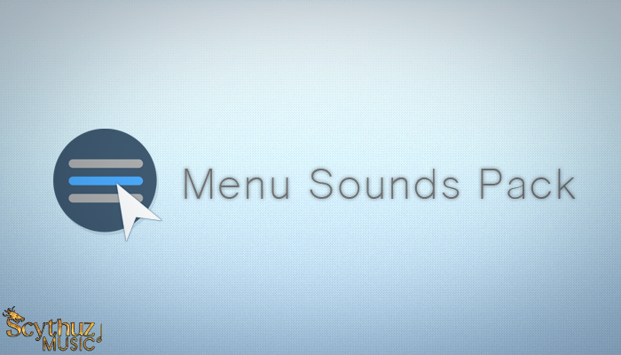 Menu Sounds SFX Pack