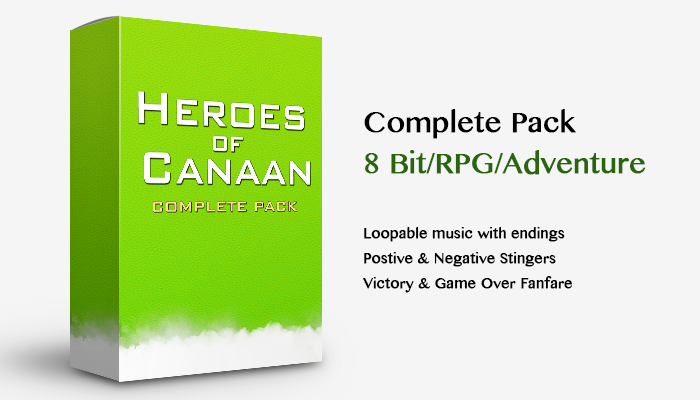 8 Bit Heroes of Canaan – Pack