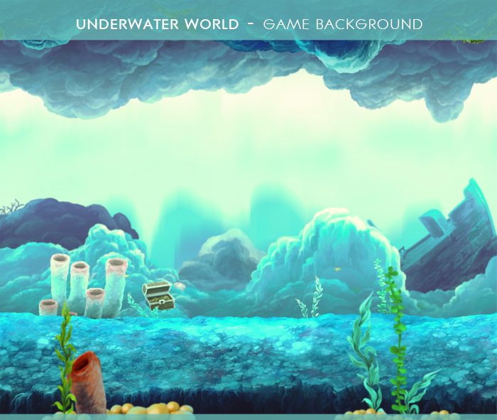 Underwater World – Game Background