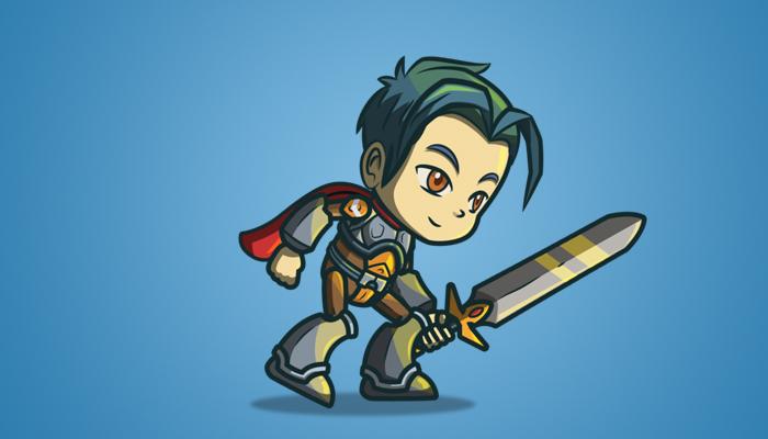 Genki And The Dragon Blade