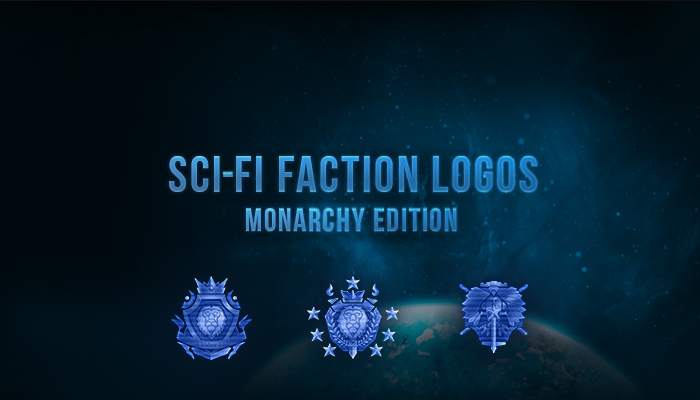 Sci-Fi Faction Logos – Monarchy Edition