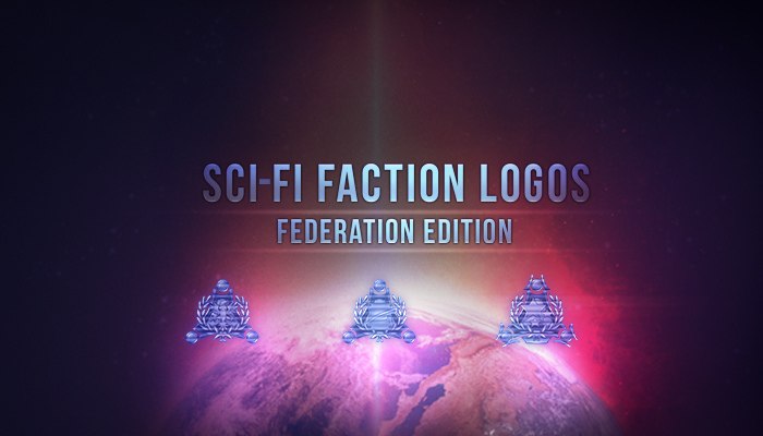 Sci-Fi Faction Logos – Federation Edition
