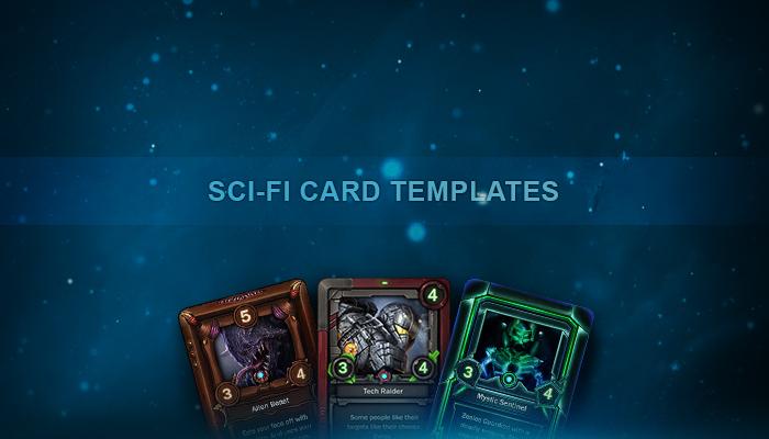 Sci-Fi Card Templates