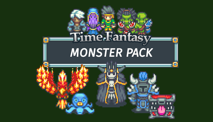 Monsters Time Fantasy RPG Sprite Pack