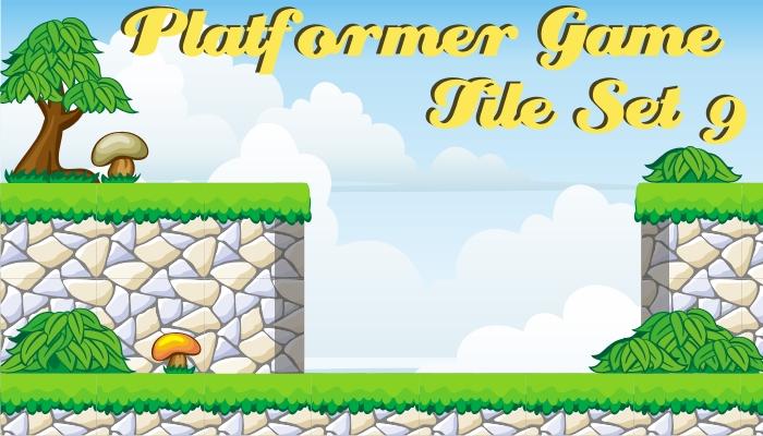 platformer game tileset 9