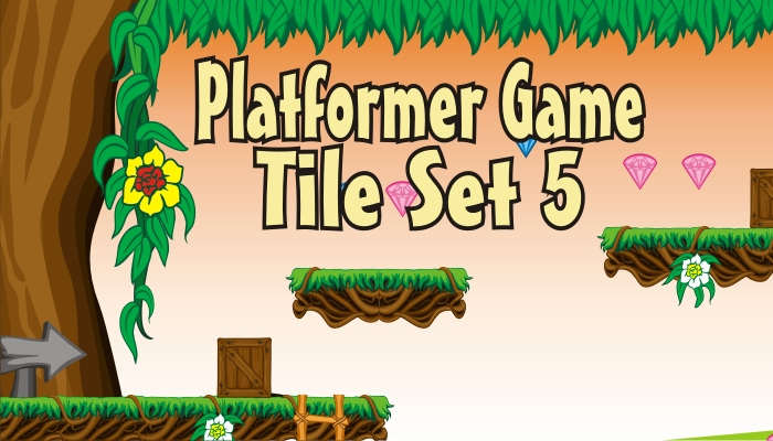 platformer game tileset 5