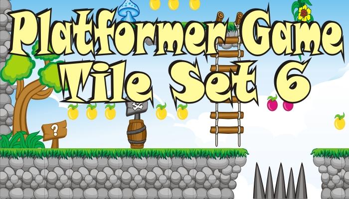 platformer game tileset 6