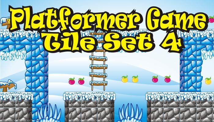 platformer game tileset 4