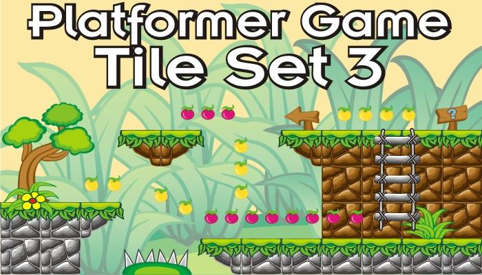 platformer game tileset 3