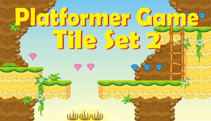 platformer game tileset 2
