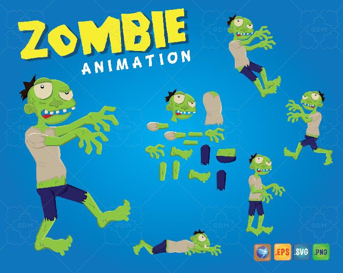Braaaains…Zombie Animation