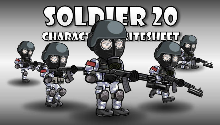 Soldier Character 20
