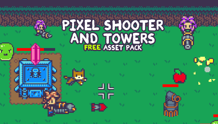 Pixel Shooter and Towers Pack