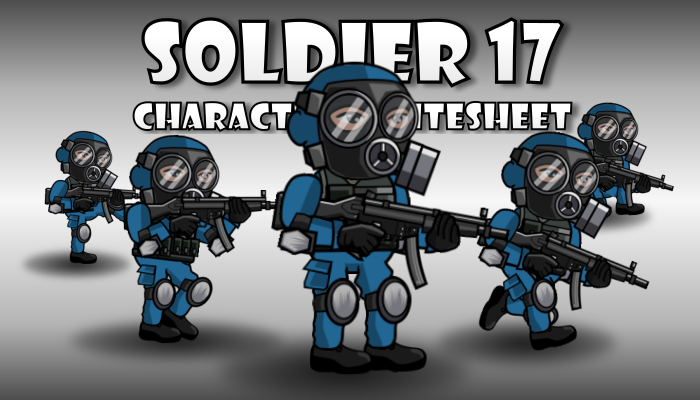 Soldier Character 17