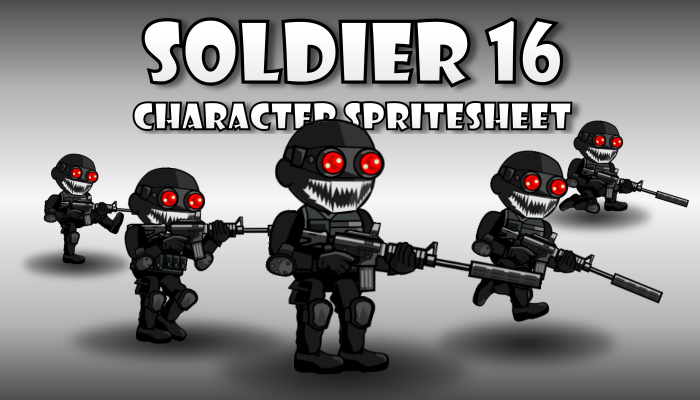 Soldier Character 16