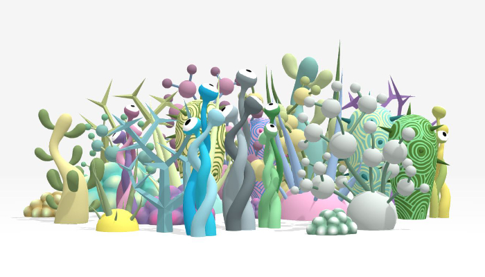Alien Toon Plants