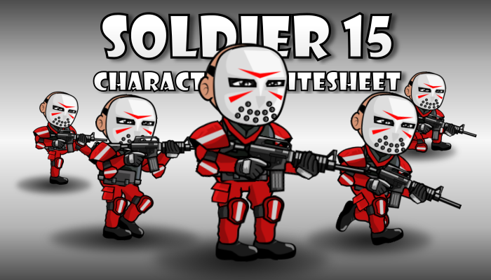Soldier Character 15