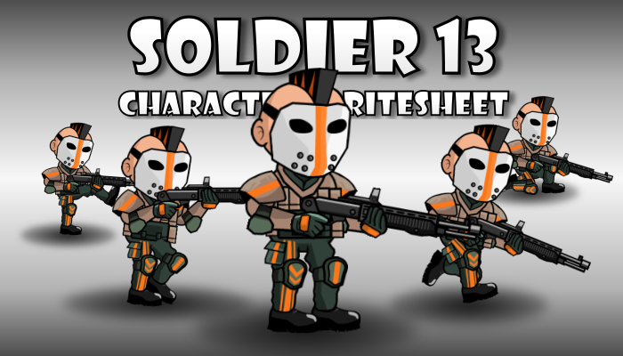 Soldier Character 13