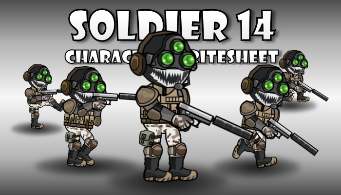 Soldier Character 14