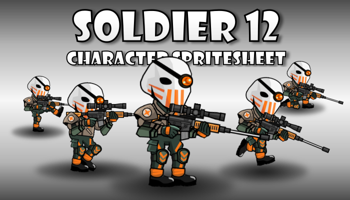 Soldier Character 12