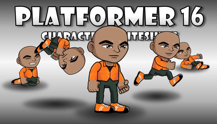Platformer Character 16