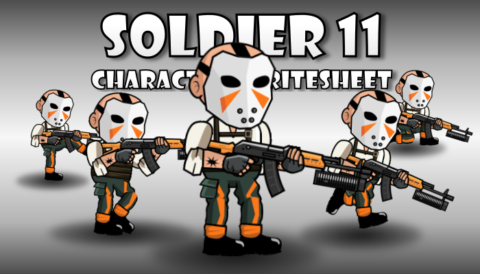 Soldier Character 11