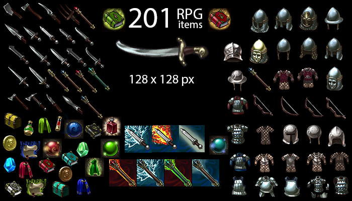 RPG ICONS PACK 201