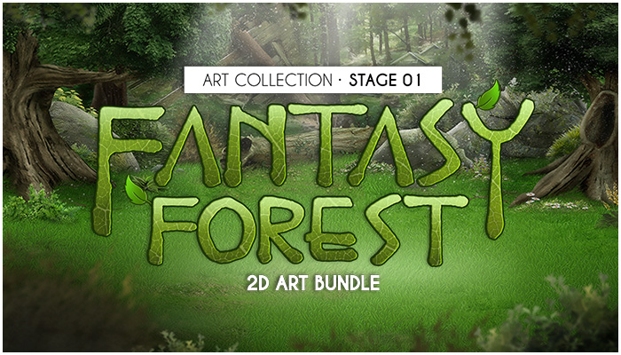 Fantasy Forest 2D Art Bundle