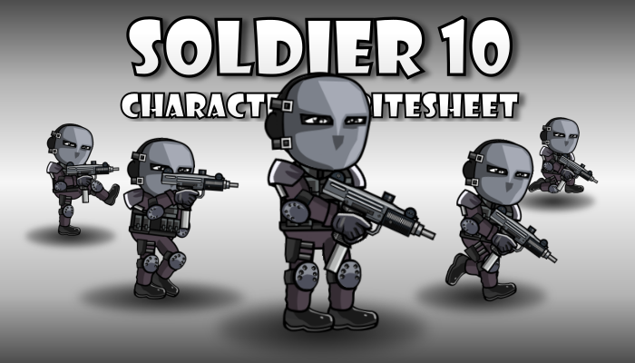 Soldier Character 10