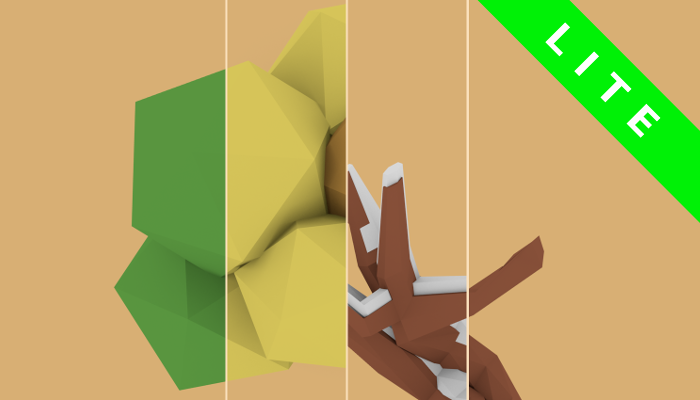 Low Poly Nature Set LITE