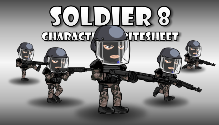 Soldier Character 8