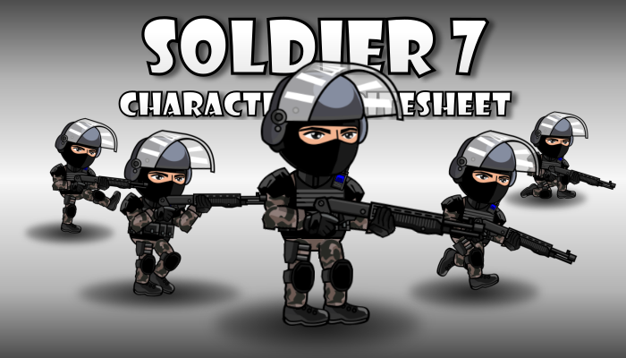 Soldier Character 7