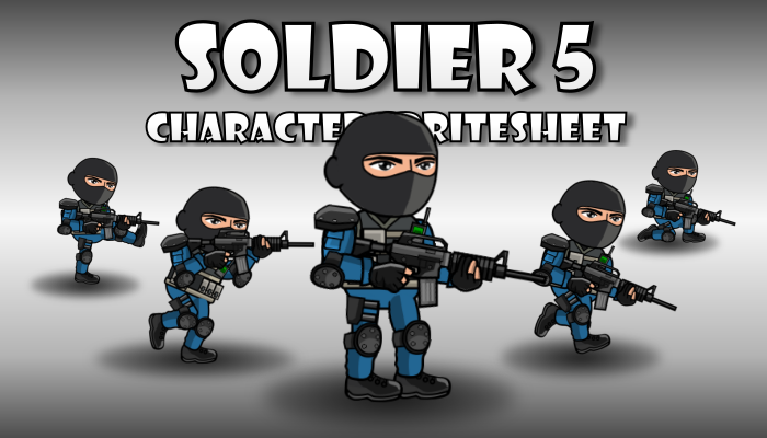 Soldier Character 5