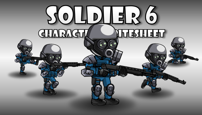 Soldier Character 6