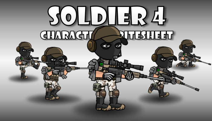 Soldier Character 4