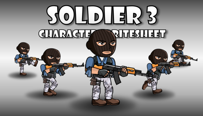 Soldier Character 3