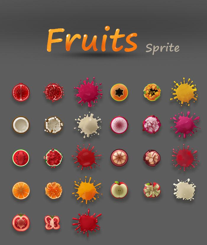 Fruits Sprite