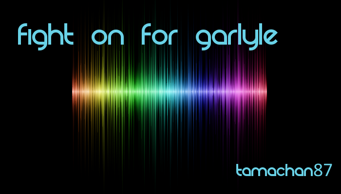 Fight on for Garlyle