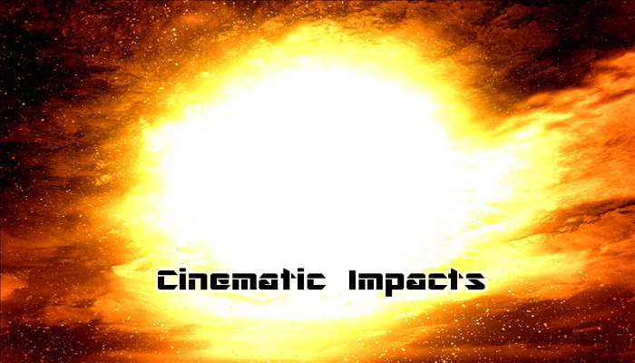 cinematic impact stingers